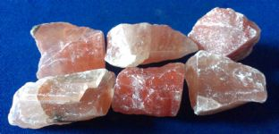 Calcite - Red - Rough (2-3cm) x 6